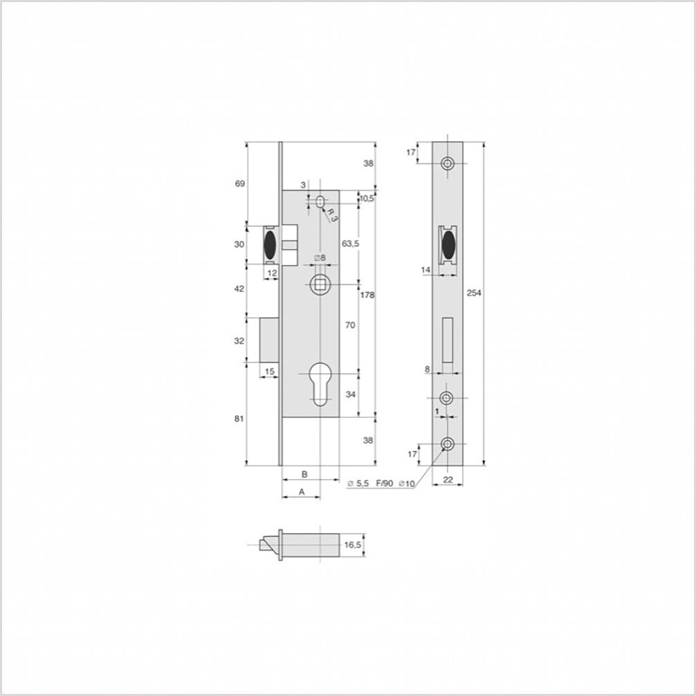 serrure stremler larder. Black Bedroom Furniture Sets. Home Design Ideas