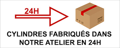 temps de fabrication cylindres